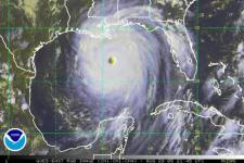 With the new GPS-based tools more precise storm prediction is possible for the Gulf of Mexico (Image: NOAA)