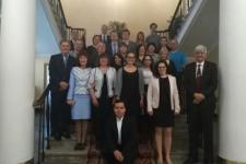 Participants at second EvIDENz stakeholder workshop in Kiev, Ukraine.