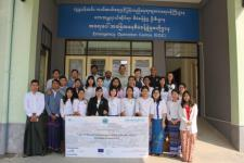 Training participants from key ministries of Myanmar. Image: UN-Habitat.