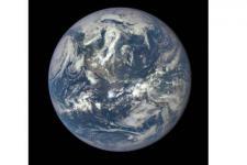 American Hemisphere (Image courtesy of NASA)