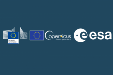European Commission and European Space Agency logos.