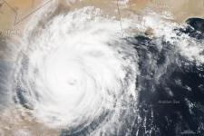 Cyclone Chapala over the Gulf of Aden (Image: NASA).