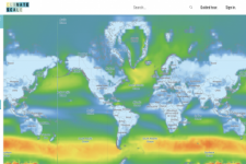 Climate Scale interactive web map