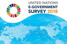 Cover of the 2018 UN E-Government Survey. Image: UN.