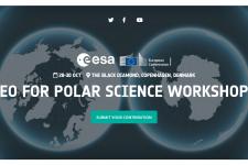 EO for Polar Science Workshop logo. Image: ESA