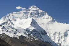 "IRNSS satellite to help locate lost trekkers. Image courtesy of Luca Galuzzi from Wikipedia article ""Himalayas"""