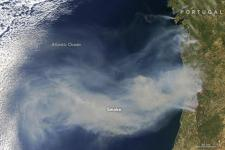 Republic of Portugal, image courtesy of NASA by Jeff Schmaltz, LANCE/EOSDIS Rapid Response. Caption by Adam Voiland.