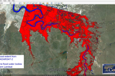 Example of a Flood Map