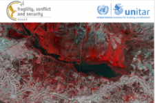 Geospatial Information Technology (GIT) in Fragile Contexts Logo. Image: UNITAR