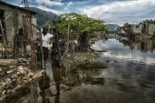 Floods in Haiti in 2014. Image:UN Photo / Logan Abassi