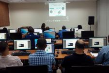Members of EIGEO during the training course