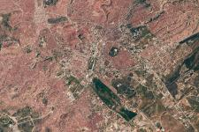 Ankara, Turkey as seen from the ISS
