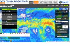 JAXA Climate Rainfall Watch. Image: JAXA.