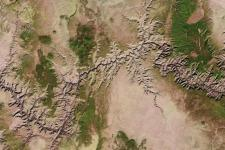 Landsat Earth observation images enables knowledge on land and resources (Image: USGS).