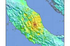 Image courtesy of USGS, ShakeMap.