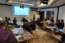 Participants during training course.