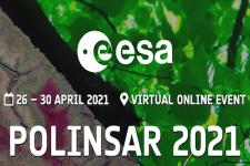 Banner for POLINSAR 2021. Image: ESA.
