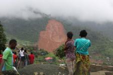 Mudslide in Sierra Leone. Image: UNICEF.