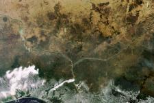 The Niger Delta. Image: ESA.