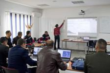 Participants during the training on flood mapping using SNAP and QGIS.