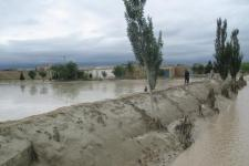 Flash floods in April 2016 in Afghanistan.