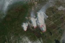 Fort McMurray Fires, Alberta, Canada. Image courtesy of NASA Goddard MODIS Rapid Response Team