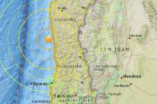 8.3 magnitude earthquake in Chile (Image: VICE)