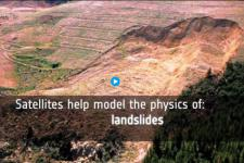 Geohazard TEP video screenshot. Courtesy of ESA