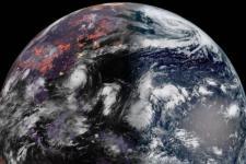 Super Typhoon Meranti image captured by Himawari-8. Image: NASA