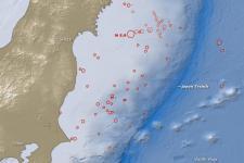 Japan's 2011 earthquake. Image: NASA