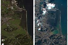 Mapping Japan's changed landscape from space