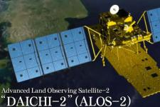 "Advanced Land Observing Satellite-2 ""DAICHI-2"" (ALOS-2). Image: JAXA"