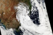 Storm in Australia 2015.  Courtesy of NASA Earth Observatory