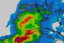 TRMM image of storm Andrea