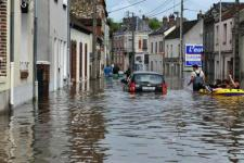 Floods in France. Image with courtesy of Philippe Derrien