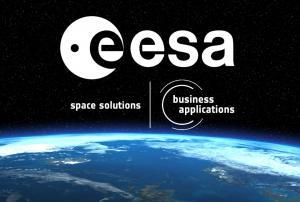 ESA space solutions business applications logo.