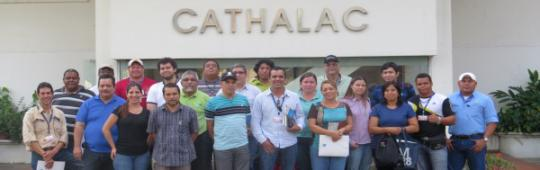 "Participants of the course ""Mapping and Application of GPS"" offered by CATHALAC"
