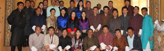 Participants of the workshop carried out during the Technical Advisory Mission