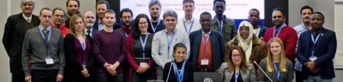Participants at the training. Image: UNOOSA.