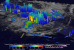 The GPM core satellite found extremely heavy rainfall on 6 March on the east side of cyclone Hola. Image: NASA/JAXA, Hal Pierce