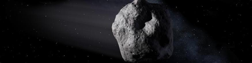 Near-Earth asteroid. Image: NASA.